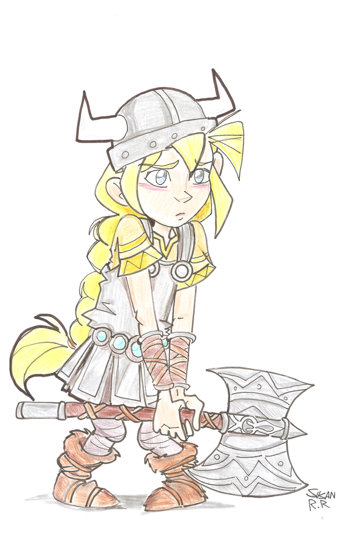 Vilka , The little Viking by gelfnig