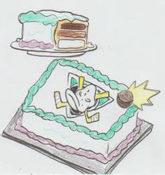 MD: A birthday cake for Pamela