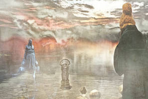 The Lake by Dark-Wayfarer