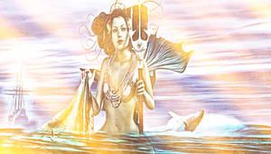 Goddess Ran by Dark-Wayfarer