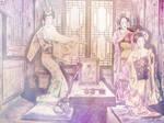 The Geisha by Dark-Wayfarer