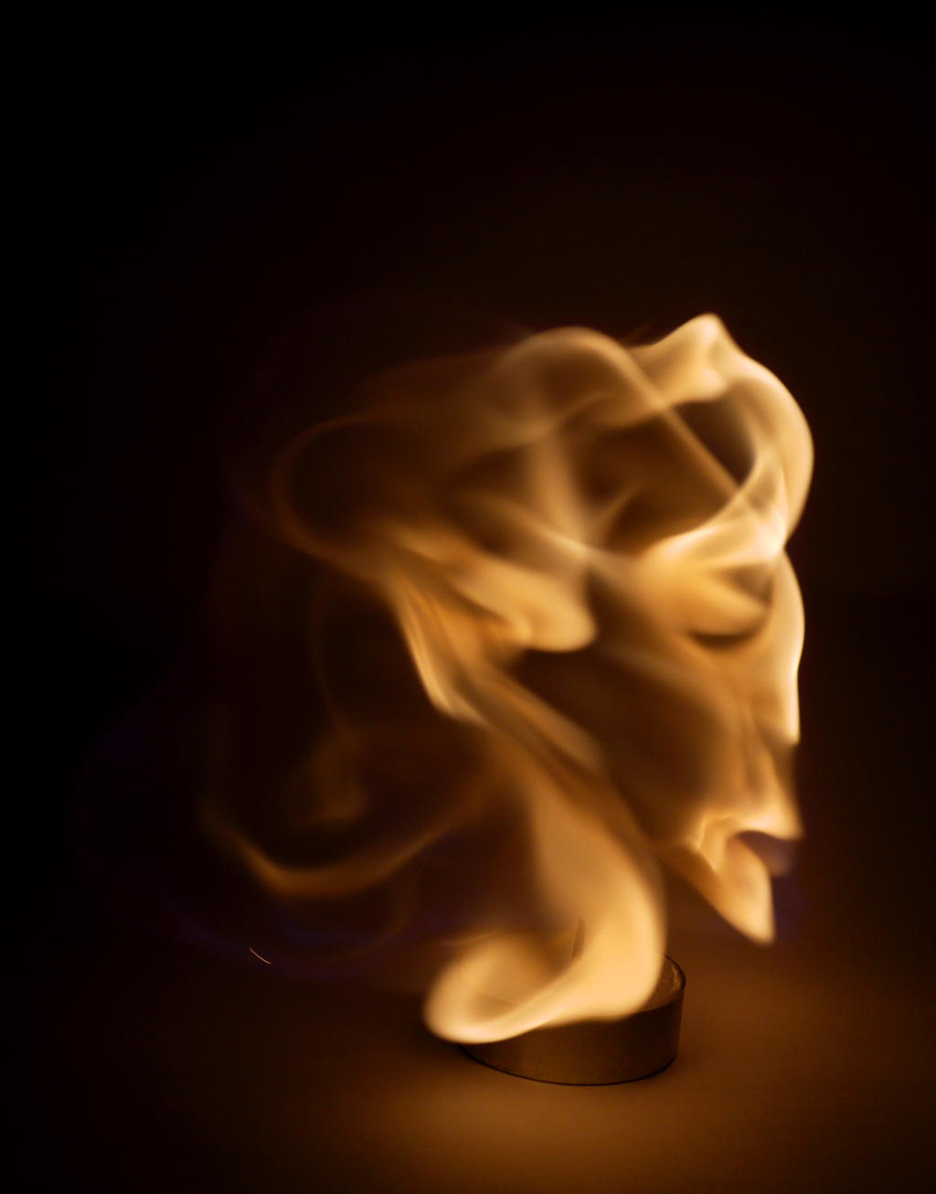 Flames like a head by MadMike27