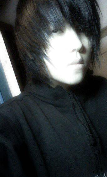 Shorter Asian tomboy hair him