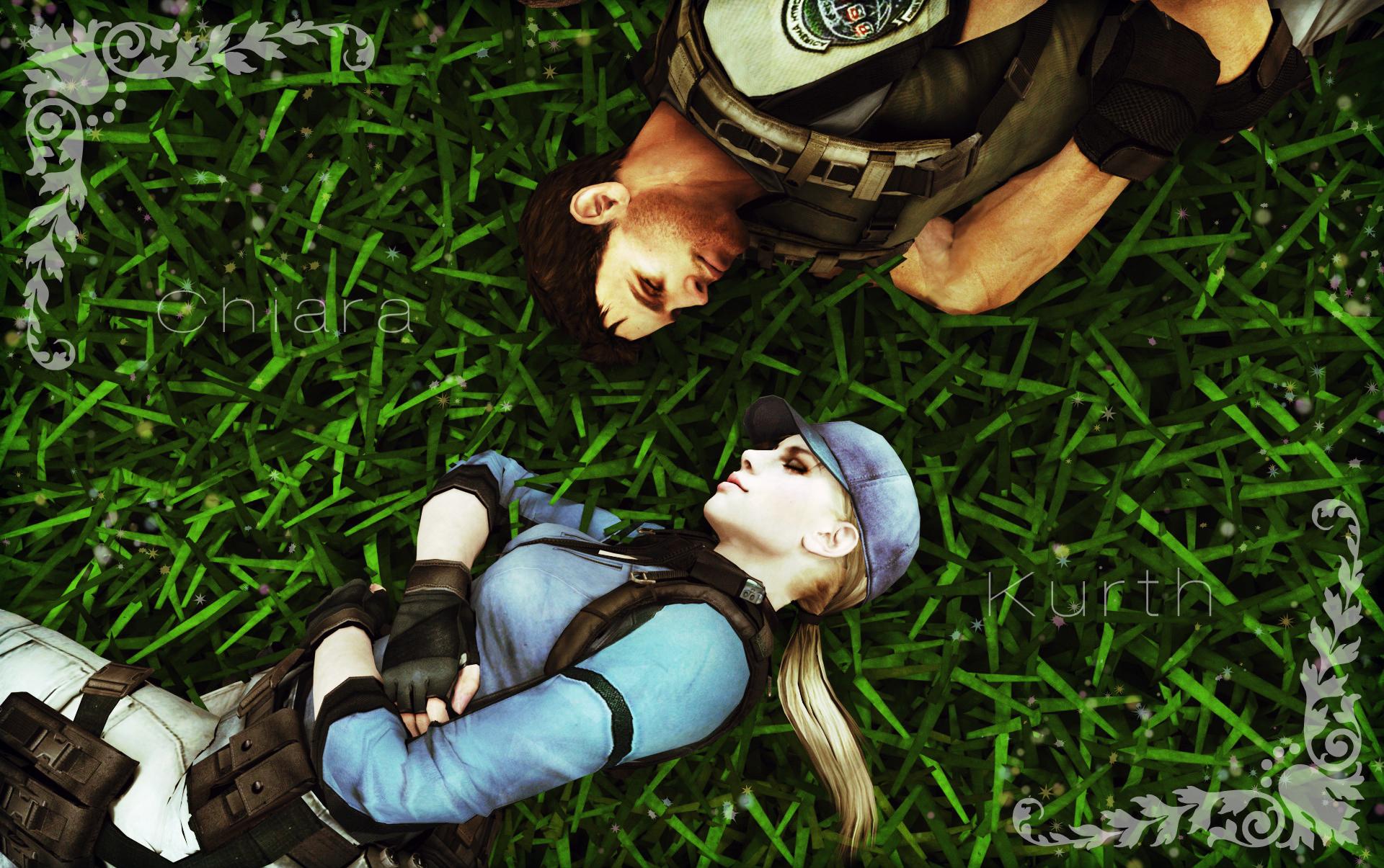 Jill Valentine And Chris Redfield 6 By Mk-re55 On DeviantArt
