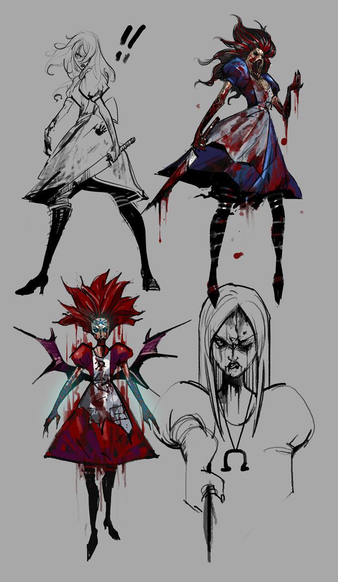 алиса рисунки:
