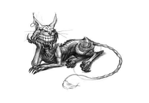Cheshire Cat Reclines