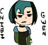 Chibi Gwen by DarknessOverAll13