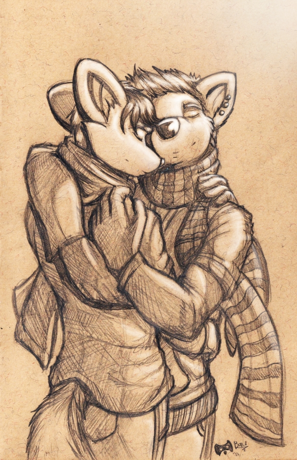 Simon and Leon sketch. by Boneitis