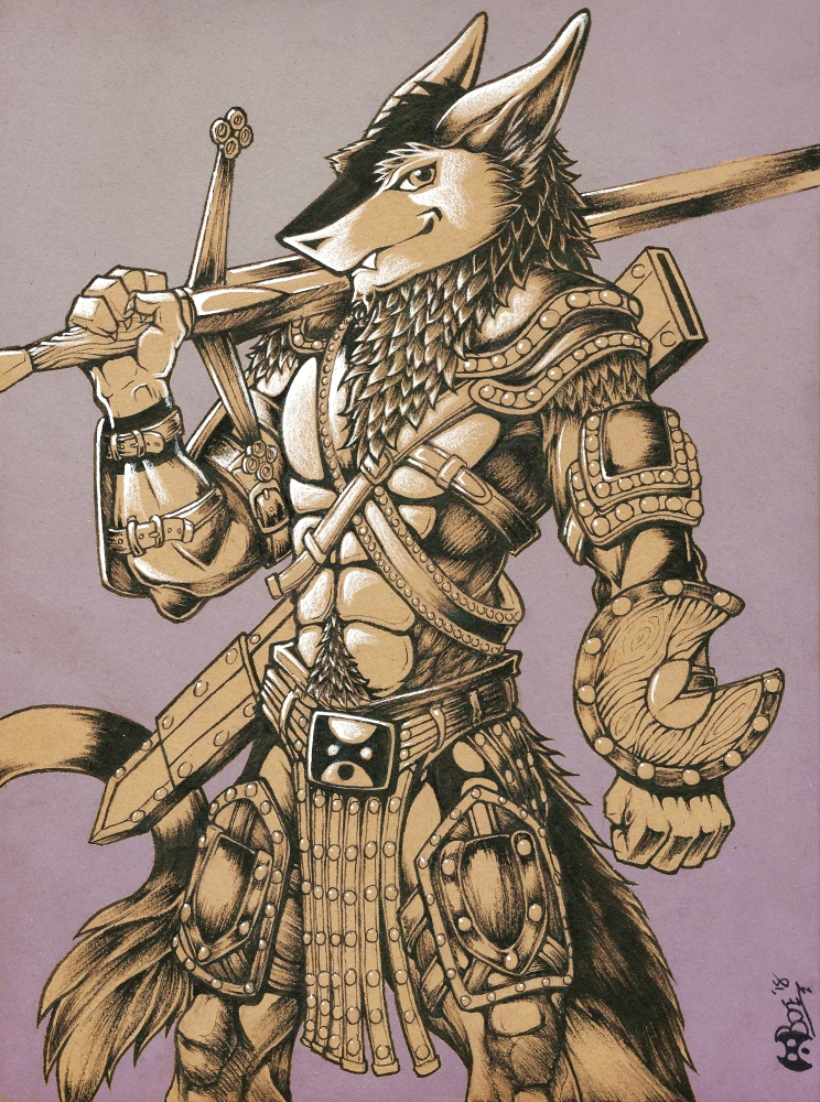 Sir Sergal by Boneitis