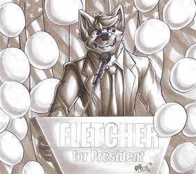 Fletcher Wins Furry Presidential Race by Boneitis