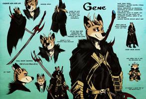 Gene Ref Sheet by Boneitis
