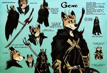 Gene Ref Sheet by Boneitis