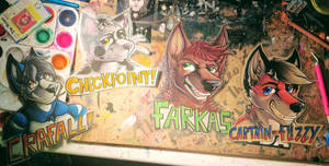 AC 2019 Pre-Order badges Round One Complete
