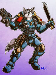 Dire Space Wolf