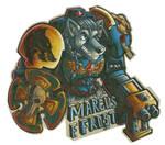 Space Wolf Terminator badge!