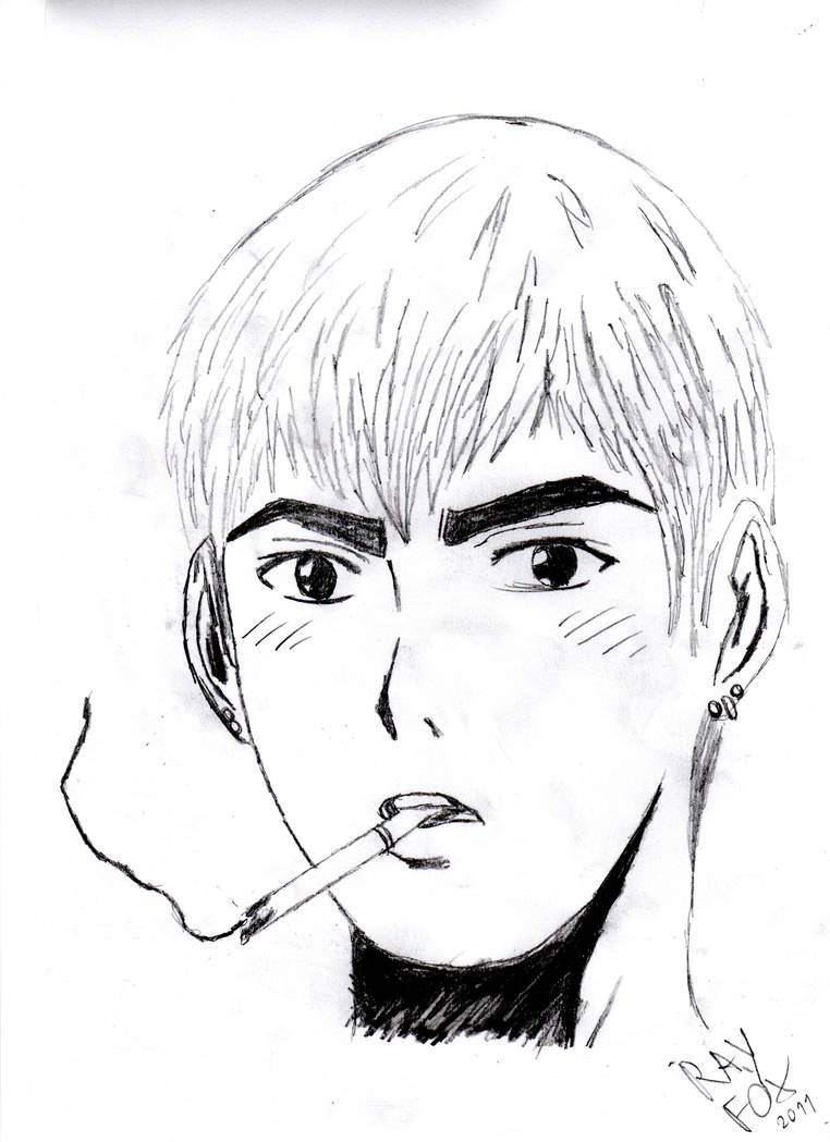 Gto great teacher onizuka by rayfox91