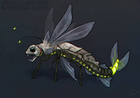 Creature challenge - Viperfish x firefly by CasArtss