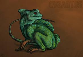 Creature Challenge - Monkey x Lizard by CasArtss
