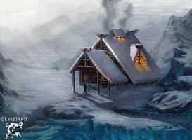 Mothers Inn - environment  concept by CasArtss