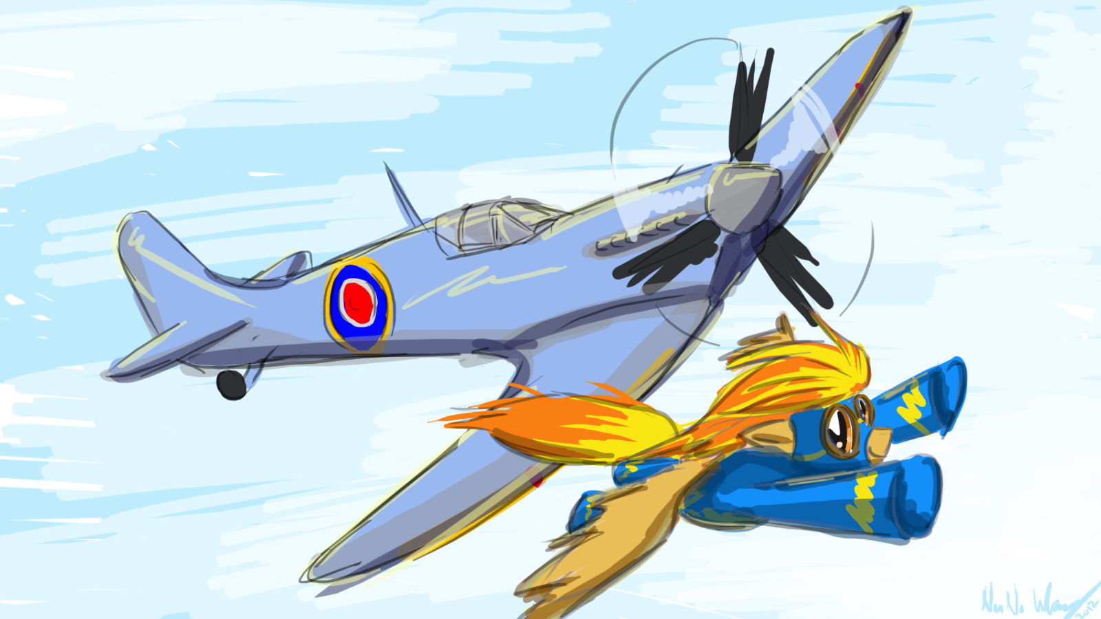 Spitfires by Zeeclaw