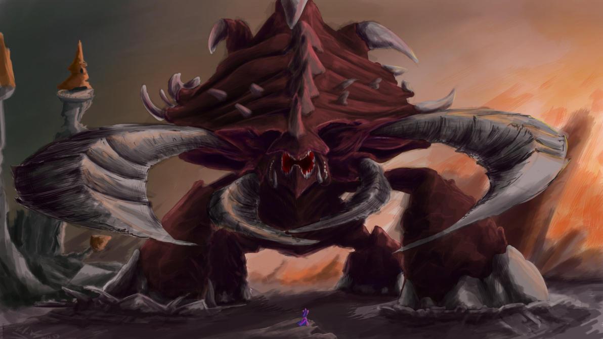Canterlot Terror by Zeeclaw