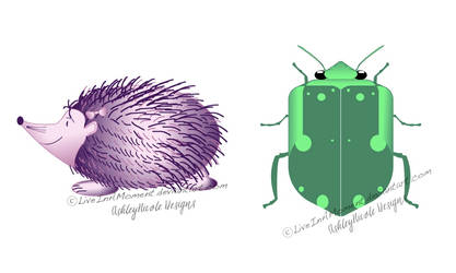 Hedgehog and Beetle Bug