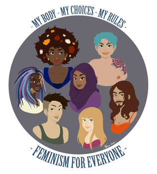 Feminism for all of us by Little-Mana