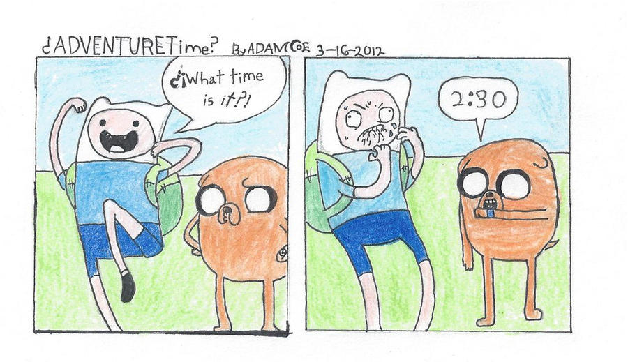 What Time Is It by AdamsSketches