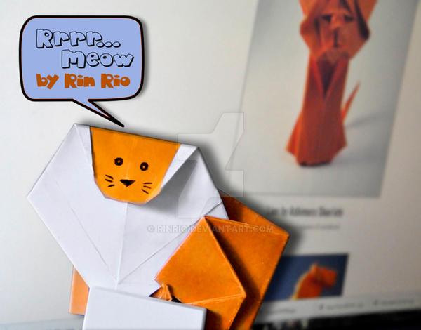 Lion Origami 3D Model $49 - .max .ma .fbx .c4d .unitypackage .upk ... | 470x600