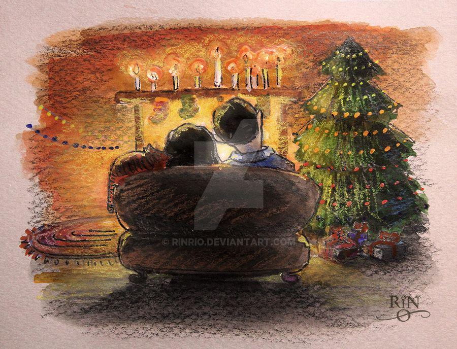 Christmas card 2 by RinRio