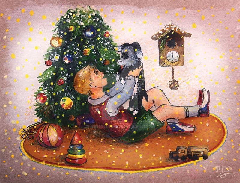 Christmas card 3 by RinRio