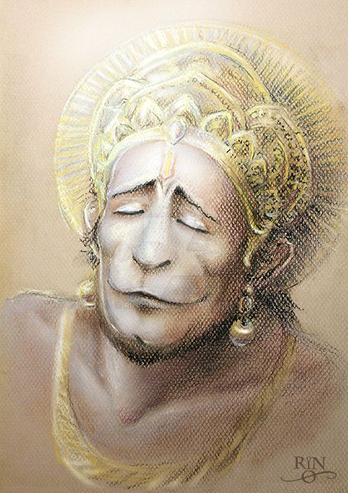 Hanuman by RinRio