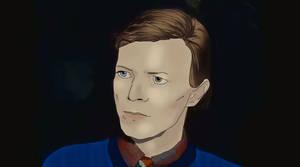 Bowie by EliseStardust