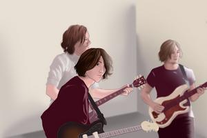 Arctic Monkeys - Hambug style by EliseStardust