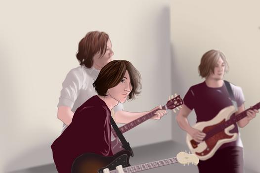 Arctic Monkeys - Hambug style