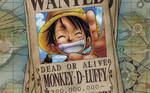 One Piece - Luffy Wanted