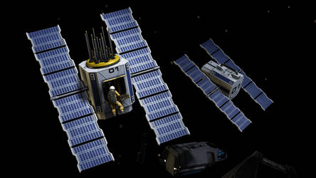 Satellite by Lt-Commander