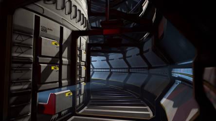 Cryogenic Corridor by Lt-Commander