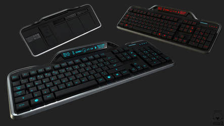 Computer Keyboard by Lt-Commander