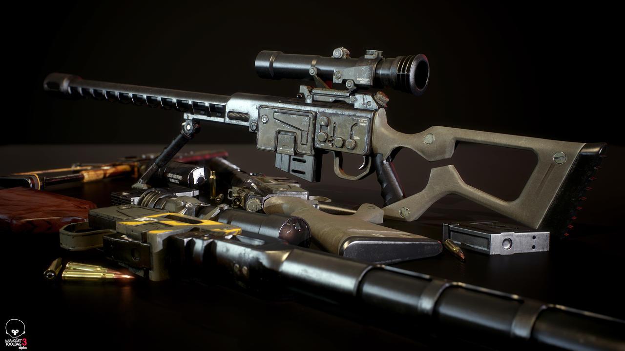 Fallout DKS-501 Sniper Rifle by Lt-Commander on DeviantArt