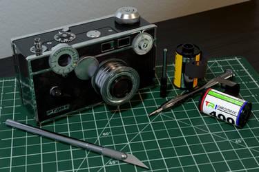 Argus C3 Rangefinder Camera by Lt-Commander