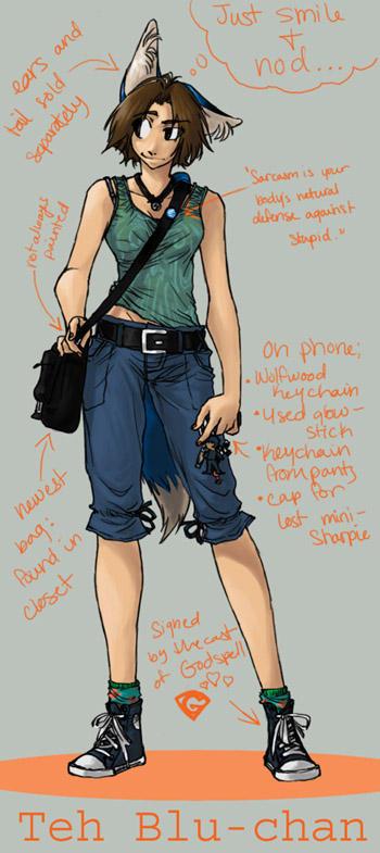 Luna-Kitsune-Blu's Profile Picture