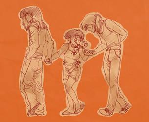 Exiles: A Walk Together by Luna-Kitsune-Blu