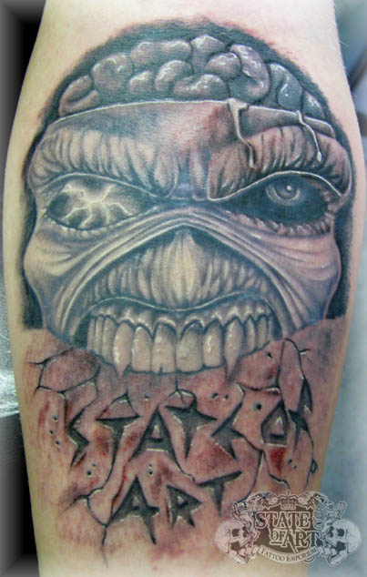 Eddie by state of art tattoo on deviantart for State of the art tattoo