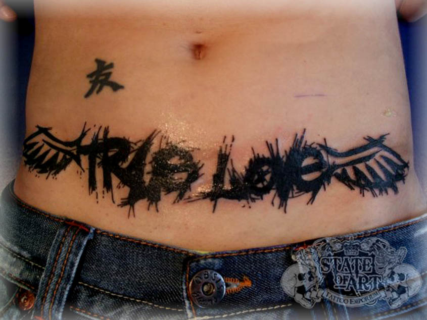 ... Art and Great Typography Found in Body Art and Tattoos | Design Juices