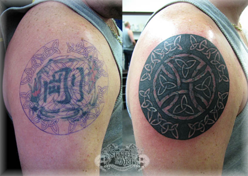 Celtic Cover Up by state-of-art-tattoo on DeviantArt