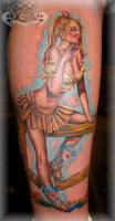 Pin up 2 by state-of-art-tattoo