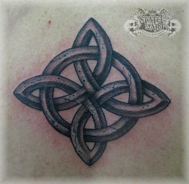 cracked celtic by state of art tattoo on deviantart. Black Bedroom Furniture Sets. Home Design Ideas