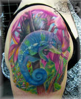 Chameleon by state-of-art-tattoo