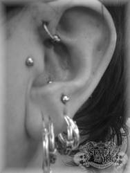 Front Helix by state-of-art-tattoo
